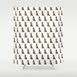 The German Shepard Shower Curtain