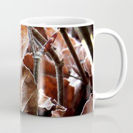 Frosted Leaves Coffee Mug