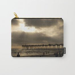 Life at Hermosa Beach Pier Carry-All Pouch