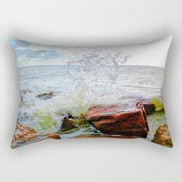 Texas Gulf Coast Rectangular Pillow