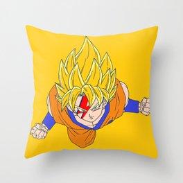 dragonball art imagenation Throw Pillow
