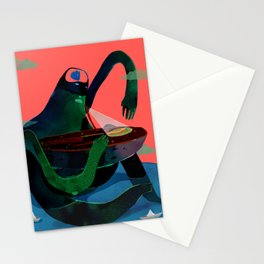 revive man Stationery Cards