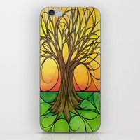 tree of life iPhone & iPod Skins featuring Tree Life  by R.Blume