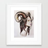 into the wild Framed Art Prints featuring Wild by Amelia Souva
