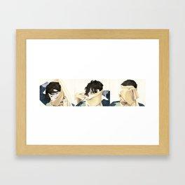 angoraphobia Framed Art Print