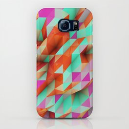 Polygons Sphere Abstract iPhone Case