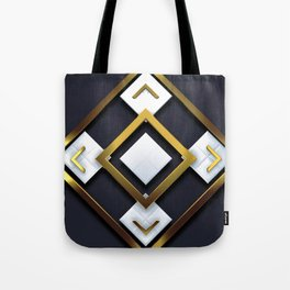 Light Dark and Gold 01 Tote Bag