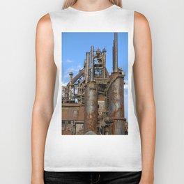Bethlehem Steel Blast Furnace 3 Biker Tank