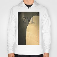 tomb raider Hoodies featuring Tomb by ZML Zealous Modern Living