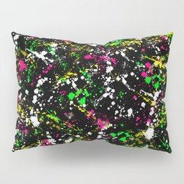 paint drop design - abstract spray paint drops 3 Pillow Sham