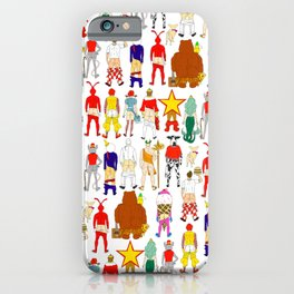 Fast Food Butts iPhone Case