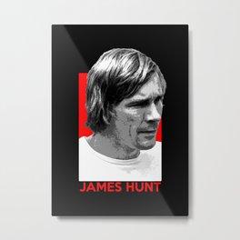 Formula One - James Hunt Metal Print