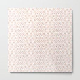 Silvia Pattern Metal Print