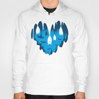 Hoodies featuring Bats Love Caves by Fuacka
