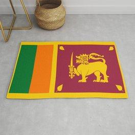 Flag of sri Lanka -ceylon,India, Asia,Sinhalese, Tamil,Pali,Buddhist,hindouist,Colombo,Moratuwa,tea Rug
