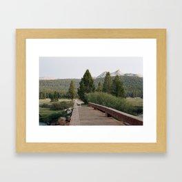 Tuolumne at Twilight Framed Art Print