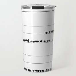 Notes on the Wires Travel Mug