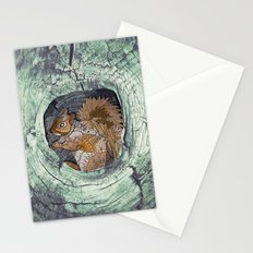 Woodland Squirrel Stationery Cards