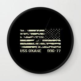 USS O'Kane Wall Clock
