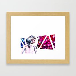 Sit Back Framed Art Print