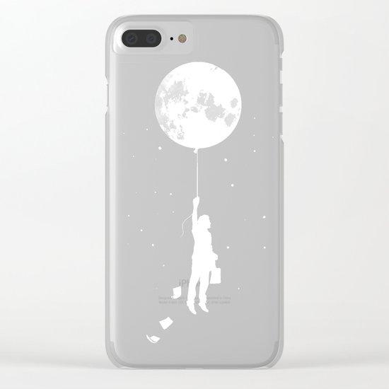 Midnight Traveler Clear iPhone Case
