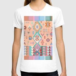 Peachy Boho Kilim T-shirt