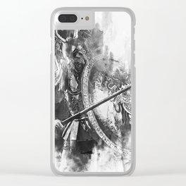 Spartan Hoplite Clear iPhone Case