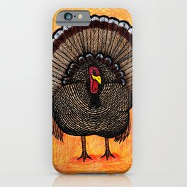 Tough Turkey iPhone Case