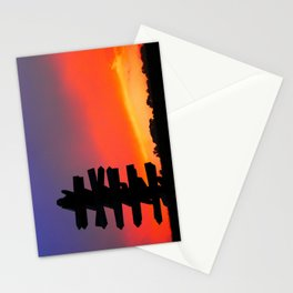 Signpost Sunset Stationery Cards