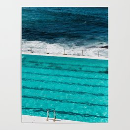Bondi Beach II art print Poster
