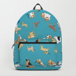 Scattered Cartoon Dogs Backpack