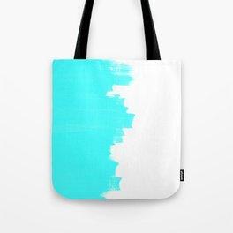 Shiny Turquoise balance Tote Bag