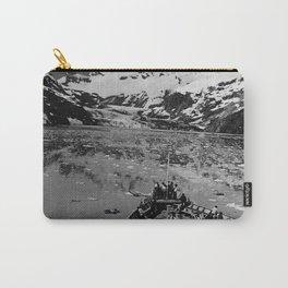 Retro USA Alaska glacier bay national monument 1970 Carry-All Pouch