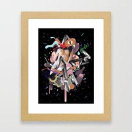 Galactico Framed Art Print