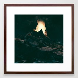 Voragine Framed Art Print