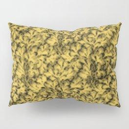 Vintage Floral Lace Leaf Primrose Yellow Pillow Sham