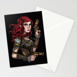 Musketeer Girl Stationery Cards
