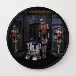 Sexy Sci-Fi Wall Clock