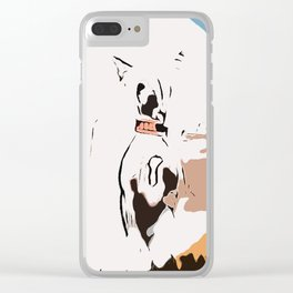 Chinese crested 7 Clear iPhone Case