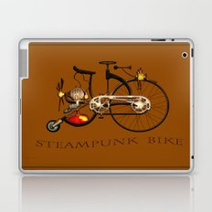 Steampunk bike Laptop & iPad Skin
