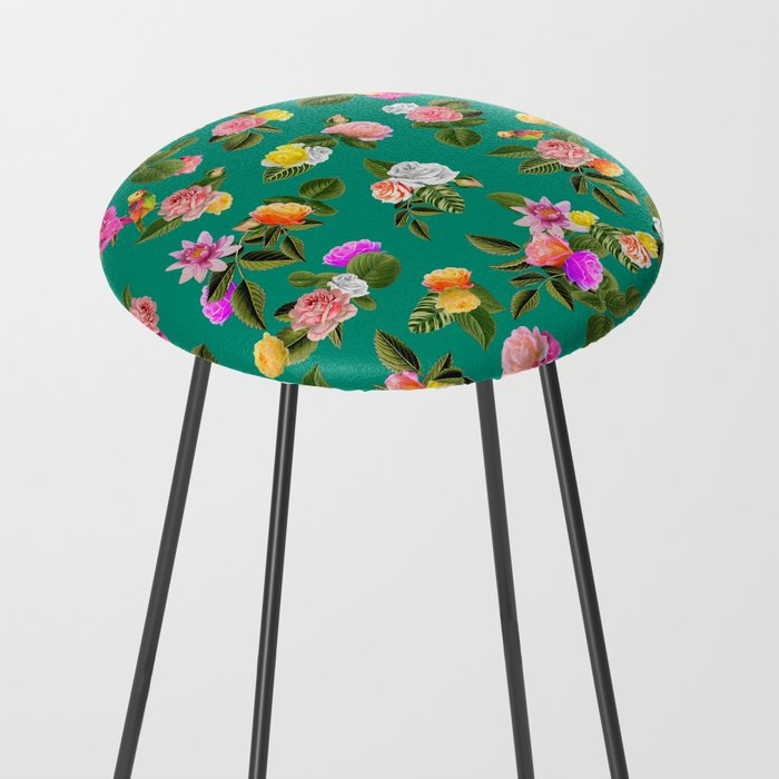 Frida Floral Counter Stool