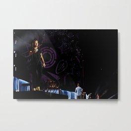 Harry on Stage Metal Print