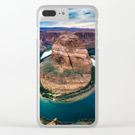 Horseshoe Bend at Sunset Clear iPhone Case