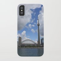 toronto iPhone & iPod Cases featuring Toronto by Rose&BumbleBee