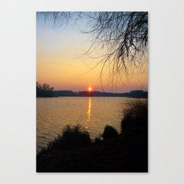 Sunset 1 Photography Canvas Print