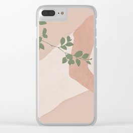 Peacefully Resting Clear iPhone Case