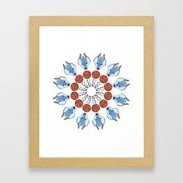 Mononoke Mandala Framed Art Print