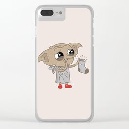 Dobby Clear iPhone Case