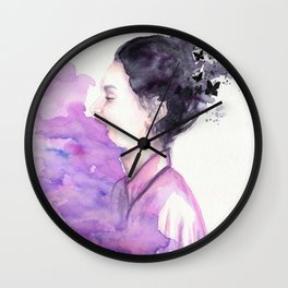Above the Storm Wall Clock