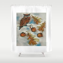 Fall In Shower Curtain